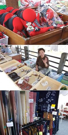 """Miyagawa Morning Market: The history of the market began since Edo Period. You can enjoy shopping and taking and dealing with """"Kakasa,"""" means the wife of farmers in Hida dialect, is very fun.  
