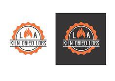 Final logo Design Kiln Dried Logs, Wood Logo, Fire Wood, Juventus Logo, Team Logo, Logo Design, Logos, A Logo, Tree Logos