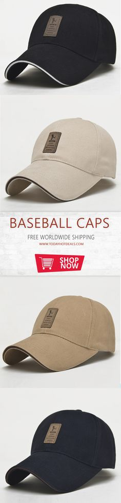 3e842f56850 Summer Baseball Cap Men Casual Snapback  - Pattern Type  Solid