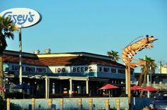 Casey's Seafood Cafe in Galveston, Texas