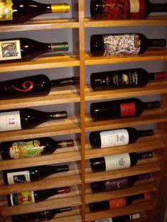 traditional wine cellar by Wine Cellar Specialists Traditional Wine Racks, Under Stairs Wine Cellar, Wine Bottle Display, Wine Bottles, Wine Cellar Racks, Home Wine Cellars, Wine Cellar Design, Wine Tasting Room, Wine Sale