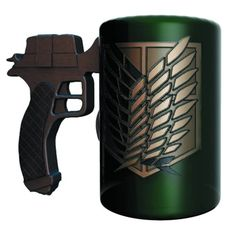 Attack on Titan Maneuvering Gear Handle Molded Mug - PX - Surreal Entertainment - Attack on Titan - Mugs at Entertainment Earth Otaku, Cosplay Outfits, Anime Outfits, Dragon Costume Women, Attack On Titan, Anime Crafts, Anime Merchandise, Things To Buy, Geek Stuff