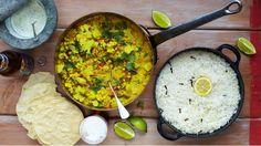 Aromatické zeleninové kari v indickém stylu zaujme souhrou výrazných chutí a vůní. Uvařte si společně s Jamie Oliverem dokonalou večeři doslova za pár minut. Další inspiraci na super rychlé recepty hledejte každý den v 17.30 na Prima love nebo v nové kuchařce Jamie Oliver – 15 minut v kuchyni!