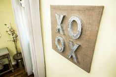 This rustic DIY XOXO Wall Art is a perfect addition to your home! For more great DIYs, tune in to Home & Family weekdays at 10a/9c on Hallmark Channel!