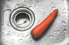 https://flic.kr/p/J7gRZ9 | Carrot in a kitchen sink