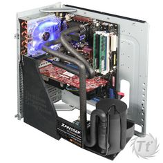After four years of painstaking research, Thermaltake has finally got this beast ready for the market! It is not just another launch of new products, but one latest PC cooling technology
