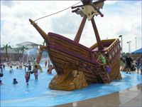 The pirate ship at Micki Krebsbach Pool is a 26 foot long and 23 feet high water adventure for all ages! Summer Fun, Summer Ideas, Summer Time, Great Places, Places To See, Round Rock Texas, Ropes Course, Wet And Wild, Fort Worth Texas
