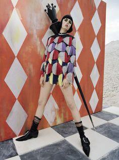 Vogue Italia December 2015 - Edie Campbell - Tim Walker