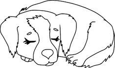 """Résultat de recherche d'images pour """"coloriage chien"""""""
