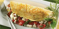 When combined with the right ingredients, omelettes can be a healthy and delicious option for breakfast, lunch or dinner.