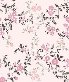 Pink Floral Art Print by Julia Prusi