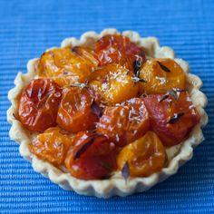 Tomato Thyme Ricotta Tartlet