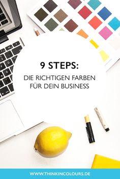 9 Steps: Die richtig