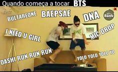 Memes bts bailando 25 ideas for 2019 Bts E Got7, Bts And Exo, Bts Memes, Seokjin, Hoseok, Namjoon, Yolo, Foto Bts, K Pop