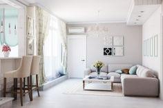 дизайн интерьера квартиры в Киеве в стиле прованс. Дизайнер Батенин Валентин.