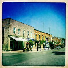 Cameron St., Cannington, Ontario] Moving To Toronto, Durham Region, Country Farm, Small Towns, Dream Big, Ontario, 19th Century, Canada, Mansions