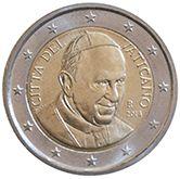 #Moneda de 2€ #Euros del #EstadoVaticano