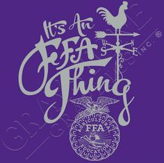 It's an FFA Thing.  You kinda got to be us, to get it.