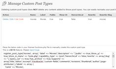 Custom Post Type UI - Wordpress Plugin