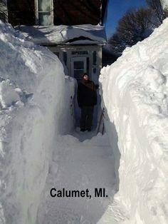 Calumet, Michigan (Upper Peninsula) - February 2014