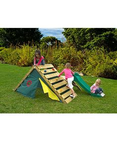 The Plum My First Play Centre is a perfect play set for hours of energy burning fun for the young climber