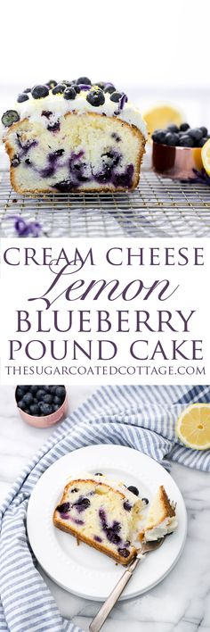 Cream Cheese Lemon Blueberry Pound Cake is part of Lemon blueberry pound cake Cream Cheese Lemon Blueberry Pound Cake Recipe Moist and creamy lemony pound cake studded with sweet plump blueberries - Blueberry Recipes, Blueberry Cake, Recipe For Lemon Blueberry Pound Cake, Lemon Cream Cheese Pound Cake Recipe, Blueberry Plant, Food Cakes, Cupcake Cakes, Cake Cookies, Köstliche Desserts