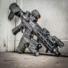 "tacticalsquad: "" tgs_arms Featherweight set and stock low drag mount E-BCG grip flat trigger "" Ar Pistol Build, Ar15 Pistol, Ar Build, Weapons Guns, Guns And Ammo, Tactical Rifles, Firearms, Shotguns, Fille Et Dirt Bike"