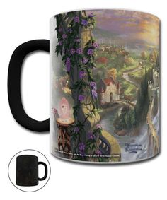 Look what I found on #zulily! Beauty & the Beast Morphing Mug #zulilyfinds  Add hot Brew to make Belles world come to life. MADE IN  USA