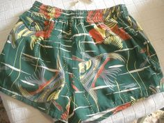Catalina swim trunks 1940s