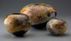 Saggar fired pottery.. ... @ivannairem .. https://tr.pinterest.com/ivannairem/ceramics-pottery-ll/