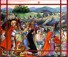 "Trina Schart Hyman «Saint George and the Dragon» | ""Картинки и разговоры"""