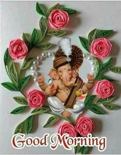 Good Morning Happy Saturday, Wednesday Morning, Sai Baba Wallpapers, Beautiful Love Pictures, Flower Phone Wallpaper, Good Morning Flowers, Lord Ganesha, Google Play, Christmas Ornaments