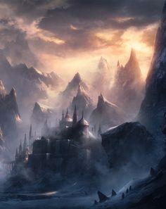 Muted Echo by Kentaro Kanamoto. Fantasy Art Engine