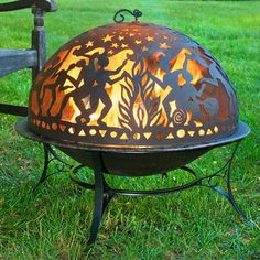 Full Moon Fire Pit & Dome