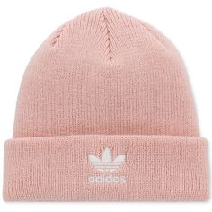 a06b0b24254 adidas Originals Trefoil Knit Beanie (72 PLN) ❤ liked on Polyvore featuring  accessories