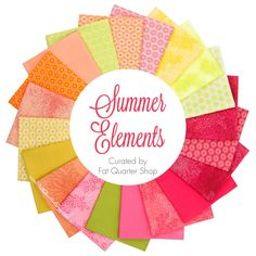 Summer Elements Fat Quarter Bundle <br/>Curated for Fat Quarter Shop
