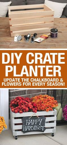 31 craft and home accessories projects in autumn - DIY decoration ideas for autumnBest Fall Crafts - DIY Pumpkin Ribbon - DIY Mason Jar Ideas, Dollar Store Crafts, Rustic Pumpkin Ideas, Wreaths, Candles and Wall Fall Home Decor, Autumn Home, Fall Apartment Decor, Fall Projects, Diy Projects, Timmy Time, Wood Crates, Diy Interior, Porch Decorating