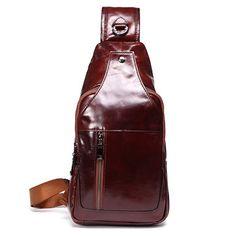 Сумка для сумок из натуральной кожи для мужчин