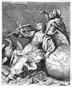 """""""The Seven Liberal Arts: Astronomy"""" by Francis Cleyn (1645)"""
