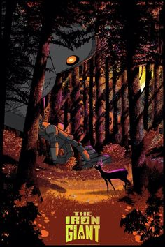 BROTHERTEDD.COM - cinemafannotes: Фан-арты Brad Bird, The Iron Giant, Print Release, Gray Matters, Disney Animation, Live Action, Illustrations Posters, Filmmaking, Screen Printing