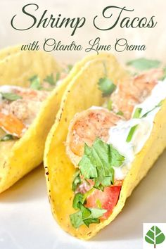 Firm, slightly spicy shrimp on a bed of creamy avocado and tart grapefruit, mixed with tomatoes, and topped off with a lemony, creamy cilantro sauce. Easy Dinner Recipes, Delicious Recipes, Dinner Ideas, Breakfast Recipes, Healthy Recipes, Spicy Shrimp, Shrimp Tacos, Cilantro Sauce