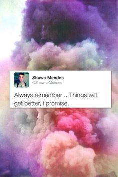 Could crop out the Tweet and use the pretty color puff as a background for a quote edit.