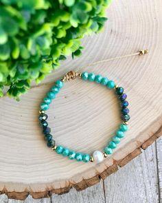 Turquoise Necklace, Beaded Necklace, Beaded Bracelets, Summer Bracelets, Jewelry, Cute Bracelets, String Bracelets, Beaded Collar, Jewlery
