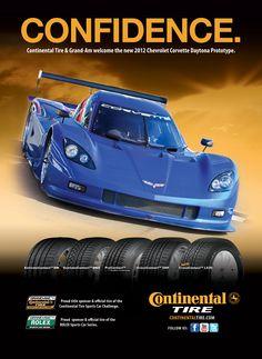 Continental Tire Ad: Grand-Am Chevrolet Corvette Daytona Prototype