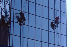http://www.cliftoncleaningservices.co.uk Clifton National Window Cleaning vehicles are equipped with water treatment systems that produce pure water. A water softening resin is used to remove the positive ions and a reverse osmosis unit is used to remove the negative ions. After this process, the water is devoid of any minerals meaning that the glass is left smear free.