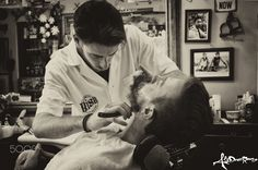 The barber is back - The barber is back in the city.. in a old and lovely…
