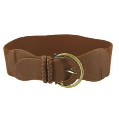 Brown Bronze Tone Metal Single Buckle Elastic Wide Cinch Waistbelt for Women, http://www.amazon.com/dp/B00AKW2YF2/ref=cm_sw_r_pi_awdm_X1K-vbV1M094W