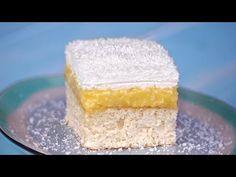 Prajitura cu nuca de cocos Monica - YouTube Dessert Drinks, Desserts, Cornbread, Vanilla Cake, Coco, Sweet Tooth, Cheesecake, Food And Drink, Make It Yourself