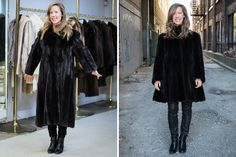 How I transformed a family heirloom and made an old fur coat cool again