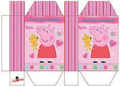 Pig Birthday, Birthday Parties, Birthday Ideas, Peppa Pig House, Peppa Pig Teddy, Aniversario Peppa Pig, Cumple Peppa Pig, Pig Party, Toy Craft